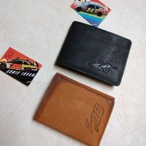 NWT lot of 2 Nascar wallets Gordon Irvan